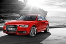 Audi S4 Sedan / Power. Efficiency. Intelligence. Concepts that are united in one symbol: the S emblem. An Audi that bears this symbol in its name belongs to an impressive tradition of superior sports cars. Like the Audi S4 Saloon. Source: Audi AG