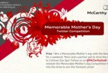 #McCarthyAudiMemorableMothersDay / McCarthy Audi Memorable Mothers day campaign on Twitter. Winner received an Audi A3 Sportback for a weekend as well as a day at Cullinun Diamond Spa!
