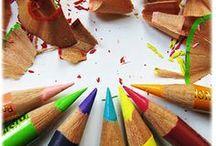 Art Journaling | Mixed Media | Inspiration / by ♔ Kathleen's Art Creations ♔
