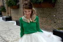 Dressed in green