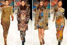 Fashion: Basso & Brooke / Unique Digitally Printed Fabrics / by Jacqueline Marie