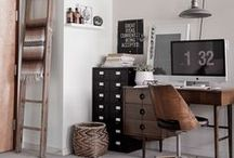 Future Dwelling | Desk / Organization is the new black, yea?
