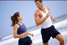 Mente sana en cuerpo sano / Caminatas, trote y ejercicios al aire libre.