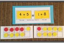 První třída - matematika