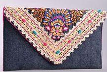 Bags, purses, clutches / Arte em crochet