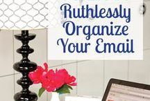Organization and Cleaning Ideas / Ideas to get organized and remove clutter from your life