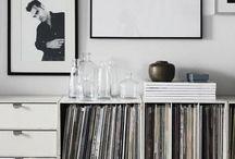 livingroom / Scandinavian deco, Scandinavian interior with modern classics.
