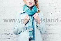 Selection of Scarves / Beautiful scarves by Goose Island