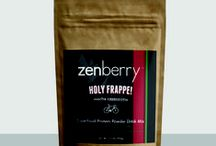 Zenberry / Zenberry is a raw, vegan, organic/wild-crafted, non-GMO  superfood protein mix, dehydrated at low temps. No added sugar or fillers.