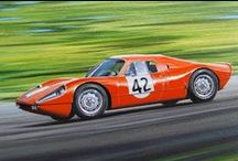 Classic cars - painted by Bert Heemskerk / Great subject to paint!