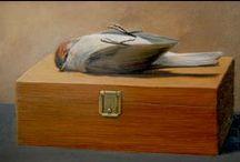 Stilleven -  painted by Bert Heemskerk