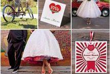 Ślub w stylu Pin-Up / Ślubne inspiracje w stylu reto-Pin Up