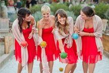 Wesele w czerwonym odcieniu / Kolor czerwony na weselu