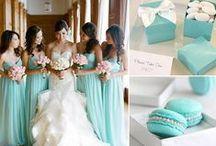 Wesele w kolorze Tiffany Blue / .