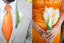 Pomarańcz na Ślubie / Ślub w energetycznym kolorze pomarańczy
