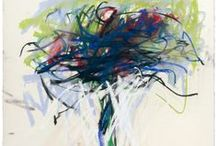 Joan Mitchell Art / Paintings by the American painter Joan Mitchell.