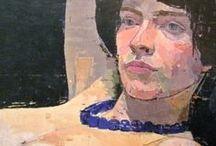Euan Uglow Art / Paintings by the British artist Euan Uglow.