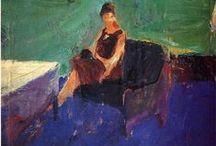 Richard Diebenkorn Art / Paintings and drawings from the various periods of the American artist Richard Diebenkorn.