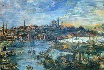Oskar Kokoschka Art / Expressive paintings and drawings by the Austrian artist Oskar Kokoschka.