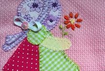 appliques and patchwork