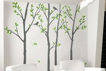 happy bedrooms and wall decals
