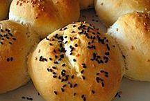 bread ( çörek-ekmek pide bazlama lavaş)