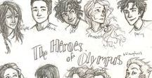 that DAM fanboard.... / I am a fangirl of the HoO series and Percy Jackson series and this is just some cool stuff I found. Enjoy!!! :) xD
