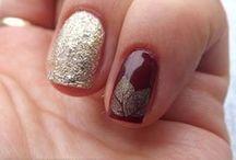 Zdobienia lakierami tradycyjnymi / Moje zdobienia paznokci, wykonane przy pomocy zwykłych lakierów.
