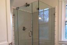 Glass Shower Enclosures / Custom Framed and Frameless Glass Shower Enclosures / Doors