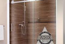 Acero Shower Enclosures / Acero Series Frameless Shower Enclosures by GlassCrafters Inc