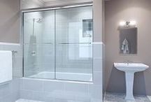 Epic By-Pass Shower Enclosures / Epic Series By-Pass Shower Doors by GlassCarters Inc