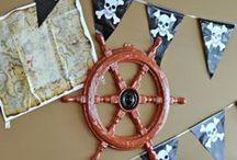 Ocean Birthday (Pirates, Mermaids, etc)