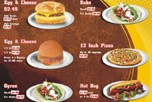 Restaurant Menu Designs / Custom restaurant menu designs