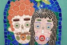 Don't Go Breakin' My Art! / Mosaic - stained glass - pottery & glass creations