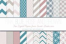 Just Peachy Digital Designs - Digital Papers, Collage Sheets, Journal Cards