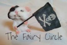 The Fairy Circle / Ooak mice, hamsters, mushrooms and fairies in polymer clay by Sharon Barbara Smorta - The Fairy Circle Made in Italy