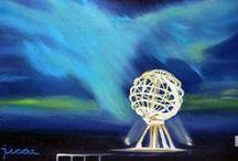 Pintura Nórdica de Javier Úcar / Obras destinadas a la venta en Noruega