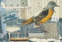 "A Little Birdie Told Me So / Birds in collage / art ....ones that move us to ""take flight"" and create!"