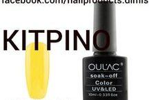 Χρωματολόγιο OULAC / Πληροφορίες-παραγγελίες στην σελίδα μας www.facebook.com/nailproducts.dimis Η τηλεφωνικός 2168001201 & 6956371631
