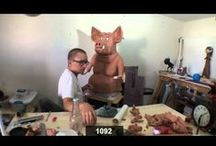 Clay Alchemist: Sculpture Time Lapses / Behind the scenes time lapses for Clay Alchemist sculptures. / by Jon Lopez