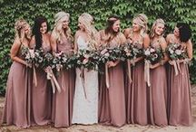 Bridesmaids / Pretty maids ~ Wedding planning ideas and inspiration