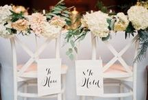 Wedding Chairs & Chair Decor / Chair décor ideas and inspiration for your wedding