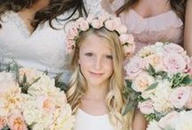Little Ones / Page Boys and Flower Girls ~ Wedding planning ideas and inspiration