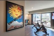 Fitness Art - Multi-Family Project / Inspire your gym workout with custom fitness artworks. Motivational images keep you on track to your fitness, health and weight loss goals. Our artists can create perfect custom image ideas and colors for your setting.
