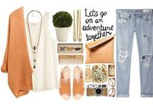 The younger one / It seems that creativity runs in our family. So here are my grandaughter's, nefelisavv, polyvore sets. Enjoy