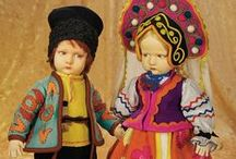 Felt and Cloth Dolls / How can you not love antique and vintage Lenci Dolls. Here are some of our favorites as well as various other felt and cloth dolls.