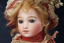 Classic French Dolls / Jumeau, Bru, Huret, Steiner, Thullier... antique poupee and bebe dolls that make us swoon