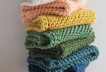 Knitting/Crocheting - dishcloths / Wash clothes or dishcloths