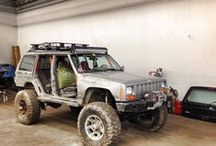 jeep cherokee XJ / by Jesse Wilson