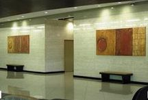 Corporate & Business Installations / We have experience with a wide and varied business environments.  Check out more at www.ArtifexArt.com